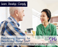Mandatory Training for Residential Home Staff - Care E-learning - The Mandatory Training Group UK -