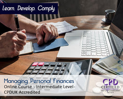 Managing Personal Finances - Online Training Course - The Mandatory Training Group UK -