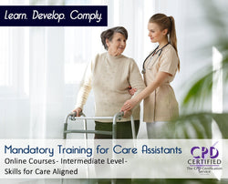 Mandatory Training for Care Assistants - Skills for Care Aligned - The Mandatory Training Group UK -