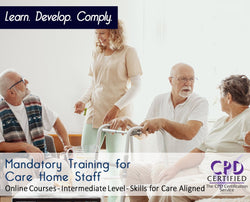 Mandatory Training for Care Home Staff - Care E-learning - The Mandatory Training Group UK -