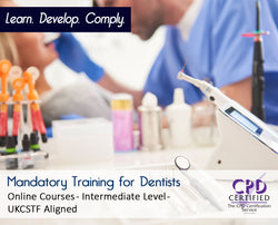 Mandatory Training for Dentists - Online Courses - The Mandatory Training Group UK -