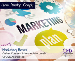 Marketing Basics - Online Training Course - The Mandatory Training Group UK -