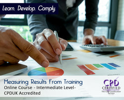 Measuring Results From Training - Online Training Course - The Mandatory Training Group UK -