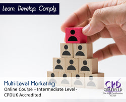 Multi-Level Marketing - Online Training Course - The Mandatory Training Group UK -