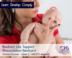 Newborn Life Support - Resuscitation Newborn CSTF - Online Course - The Mandatory Training Group UK -