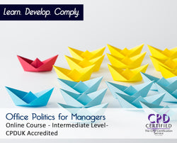 Office Politics for Managers - Online Training Course - The Mandatory Training Group UK -