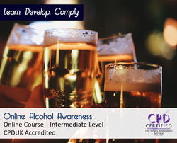 Online Alcohol Awareness  - Online Training Course - The Mandatory Training Group UK -