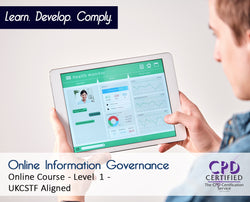 Online Information Governance - CPDUK Accredited - The Mandatory Training Group UK -
