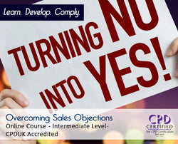 Overcoming Sales Objections - Online Training Course - The Mandatory Training Group UK -