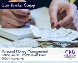 Personal Money Management - Online Training Course - The Mandatory Training Group UK -
