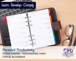 Personal Productivity - Online Training Course - The Mandatory Training Group UK -