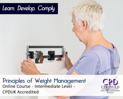 Principles of Weight Management  - Online Training Course - The Mandatory Training Group UK -