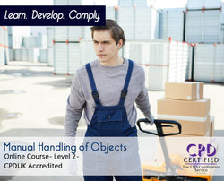 Manual Handling of Objects - Online Training Course - The Mandatory Training Group UK -