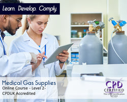 Medical Gas Supplies - Online Training course - The Mandatory Group UK -