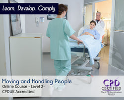 Moving and Handling People - Online Training Course - The Mandatory Training Group UK -