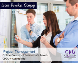 Project Management - Online Training Course - The Mandatory Training Group UK -