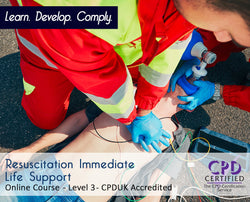 Resuscitation Immediate Life Suppor - Online Training Course - The Mandatory Training Group UK -