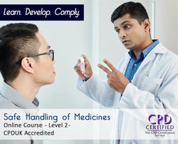 Safe Handling of Medicines - Online Training Course - The Mandatory Training Group UK -