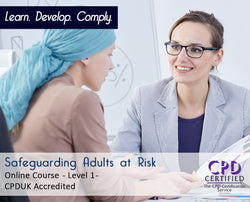 Safeguarding Adults at Risk – Level 1 - Online Training Course - The Mandatory Training Group UK -