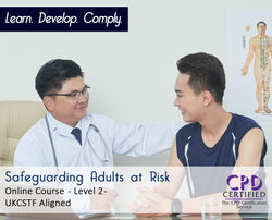 Safeguarding Adults at Risk - Level 2  - Online Training Course - The Mandatory Training Group UK -