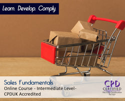 Sales Fundamentals - Online Training Course - The Mandatory Training Group UK -