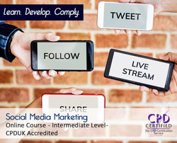 Social Media Marketing - Online Training Course - The Mandatory Training Group UK -