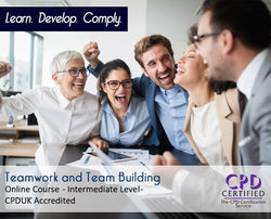 Teamwork and Team Building - Online Training Course - The Mandatory Training Group UK -
