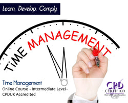 Time Management - Online Training Course - The mandatory Training Group UK -
