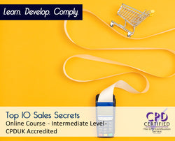 Top 10 Sales Secrets - Online Training Course - The Mandatory Training Group UK -