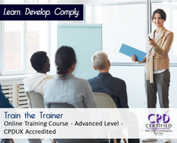 Train the Trainer  - E-Learning Course - CPDUK Accredited - The Mandatory Training Group UK -