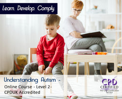 Understanding Autism - Online Training Course - The Mandatory Training Group UK -