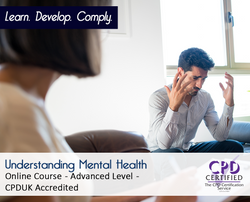 Understanding Mental Health  - Online Training Course - The Mandatory Training Group UK -