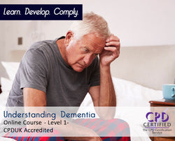 Understanding Dementia - Online Training Course - The Mandatory Training Group UK -