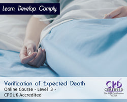 Verification of Expected Death  - CPDUK Accredited - The Mandatory Training Group UK -