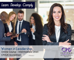 Women in Leadership - Online Training Course - The Mandatory Training Group UK -