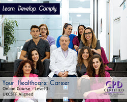 Your Healthcare Career - Level 1 - Online Training Course - The Mandatory Training Group UK -