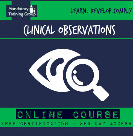 Clinical Observations Skills Training | Online CPD Course