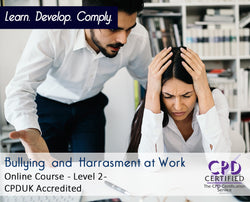 Bullying and Harassment at Work - Online Training Course - The Mandatory Training Group UK –