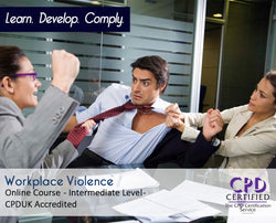 Workplace Violence - Online Training Group - The Mandatory Training Group UK -