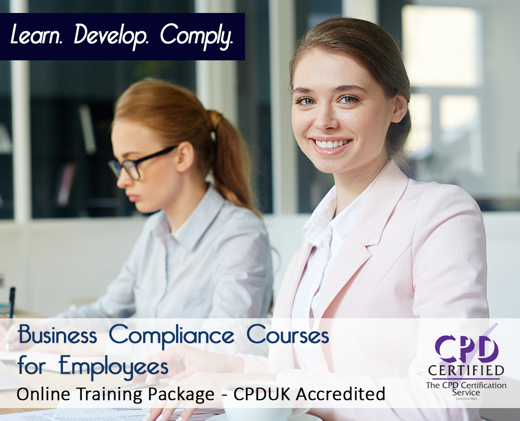 Business Compliance Courses for Employees - Online Training Package  - The Mandatory Training Group UK -