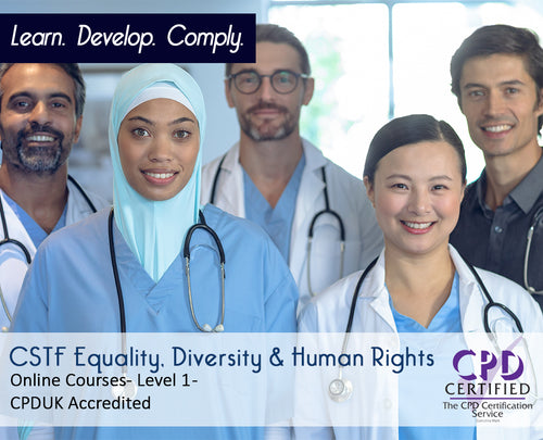 Online CSTF Equality, Diversity and Human Rights Training Courses - eLearning Course - The Mandatory Training Group UK -