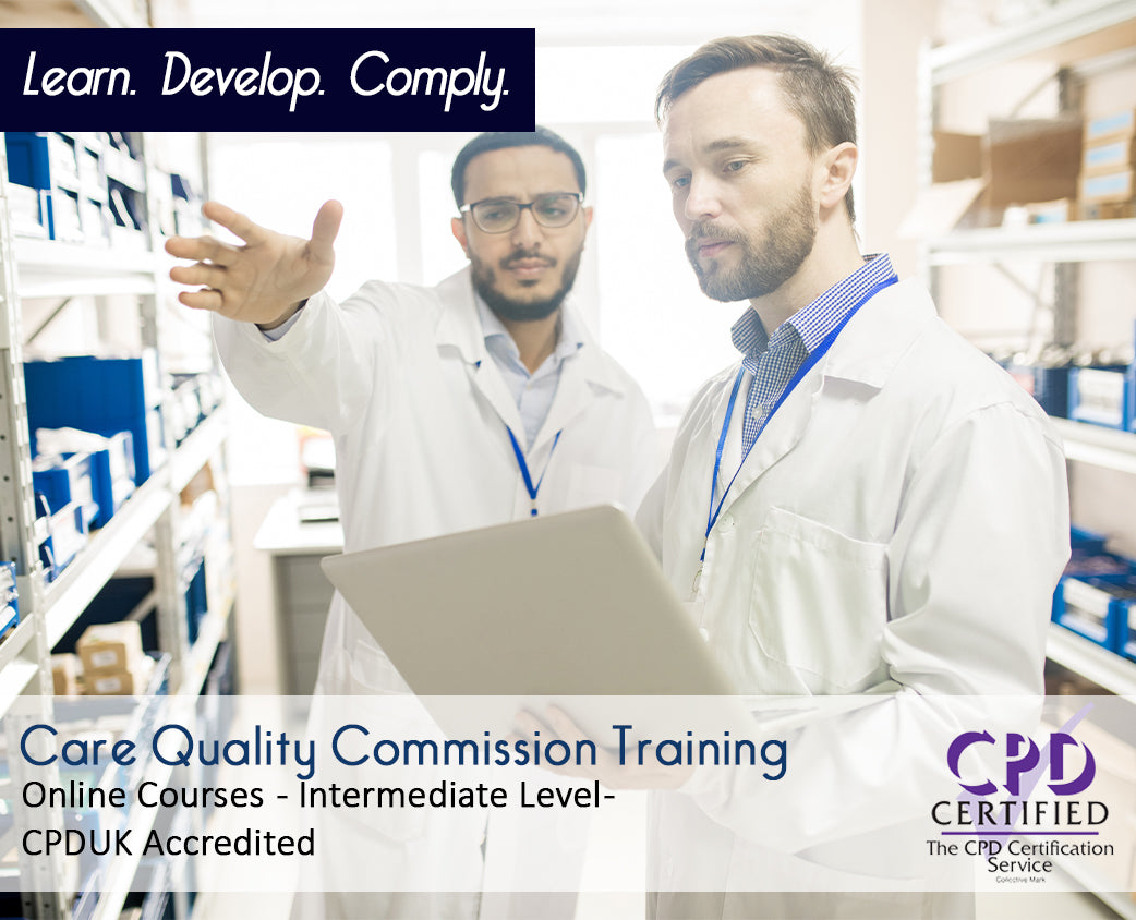 Online Care Quality Commission Courses and Training - eLearning Course - The Mandatory Training Group UK -