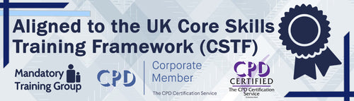 Online CSTF Aligned Mandatory Training Courses - eLearning Courses - The Mandatory Training Group UK -