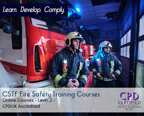 Online CSTF Fire Safety Training Courses - eLearning Courses - The Mandatory Training Group UK -
