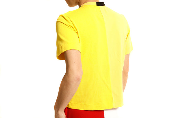 YELLOW PATCHWORK TEE - MONOPOLIST  - 5