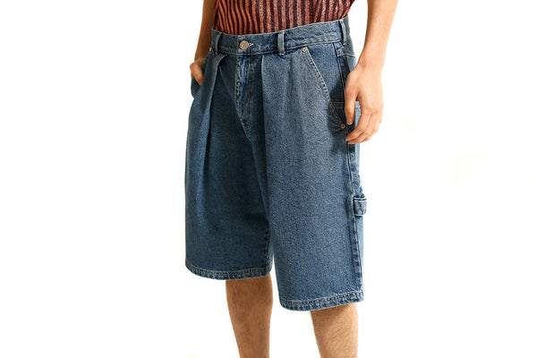 DENIM SHORTS - MONOPOLIST  - 4