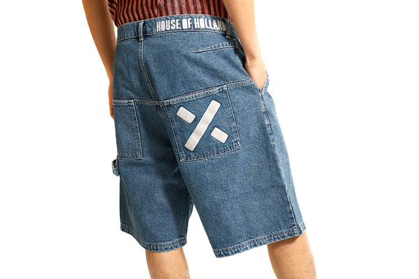 DENIM SHORTS - MONOPOLIST  - 1