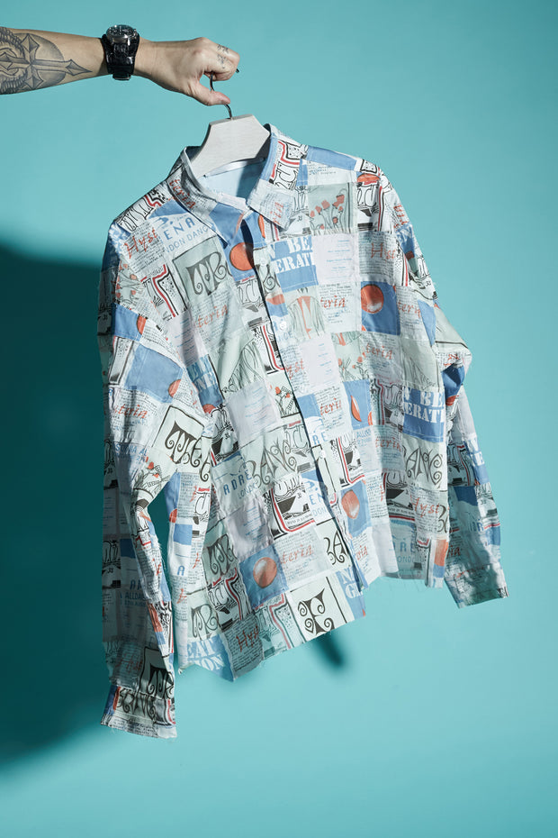 PATCHWORK FLYER SHIRT