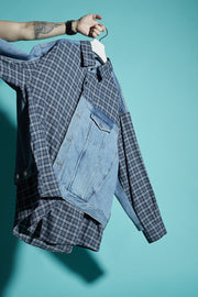 HYBRID DENIM SHIRT