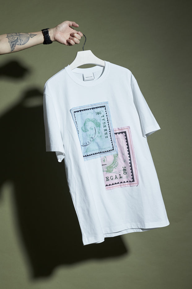 STAMP PATCHWORK TEE